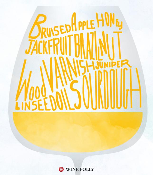 Orange wine taste