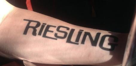 Riesling tatoo