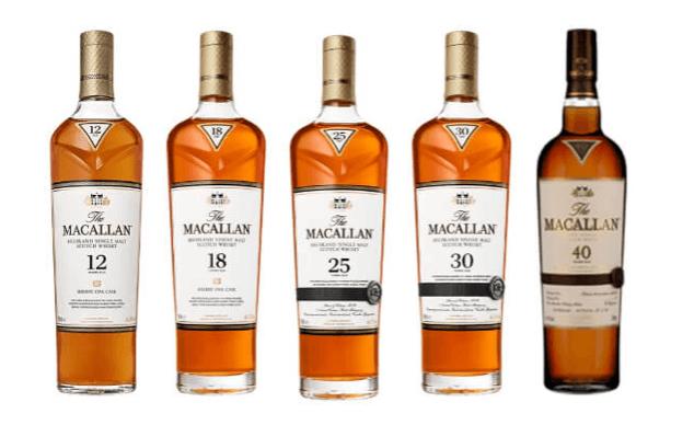 麥卡倫經典雪莉桶系列帶有渾然天成的深邃淺桃木酒色,是麥卡倫酒廠的經典之作