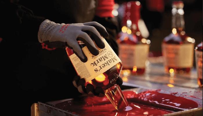 Maker's Mark美格威士忌 瓶口封蠟