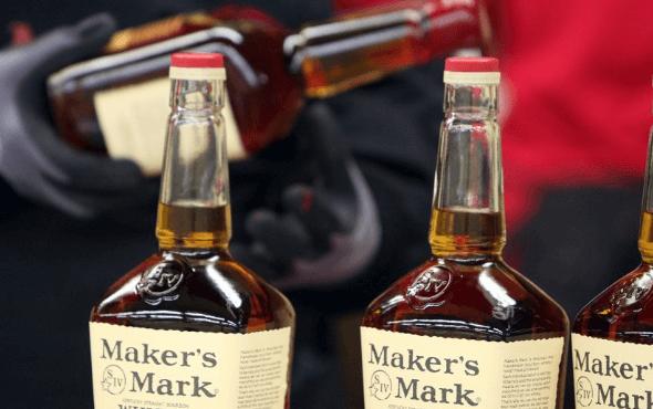 Maker's Mark 瓶口