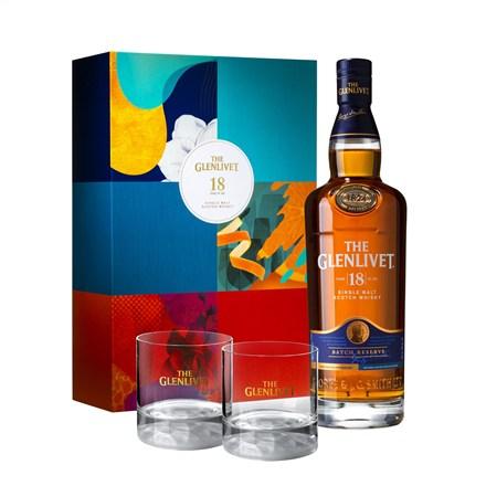 格蘭利威18年單一麥芽蘇格蘭威士忌禮盒