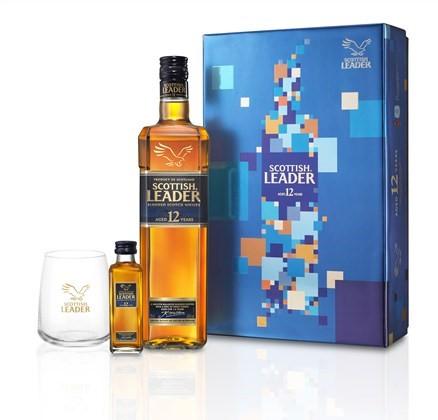仕高利達 12 年蘇格蘭威士忌新年禮盒