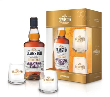 汀士頓1785傳承雪莉桶單一麥芽蘇格蘭威士忌新年禮盒