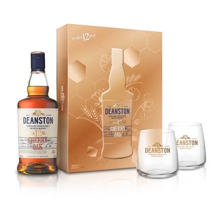 汀士頓重雪莉桶12年單一麥芽蘇格蘭威士忌新年禮盒