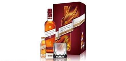 Johnnie Walker 15 年雪莉桶風味威士忌禮盒