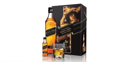 Johnnie Walker 黑牌 12 年蘇格蘭威士忌禮盒