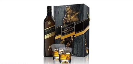 Johnnie Walker 雙黑極醇限定版蘇格蘭威士忌禮盒