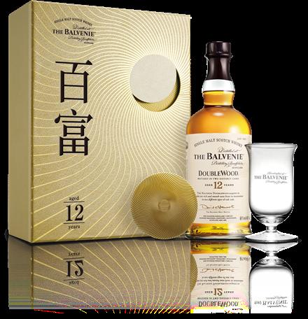 百富 12 年雙桶單一麥芽威士忌新年禮盒