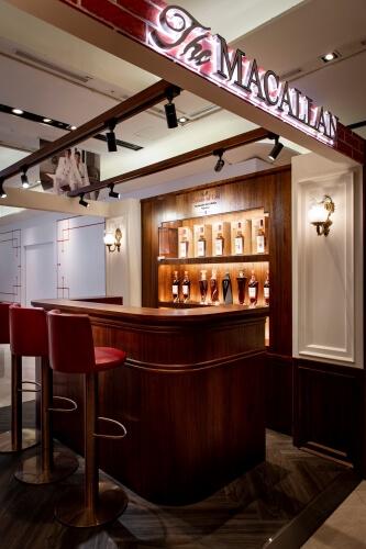 麥卡倫RED Collection Bar 吧檯環境