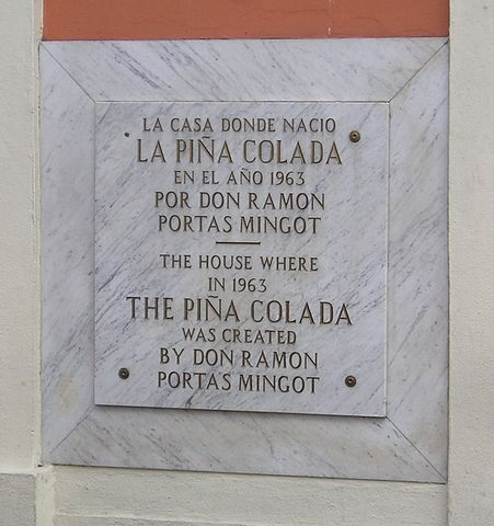 Barrachina 餐廳 Pina Colada的誕生地