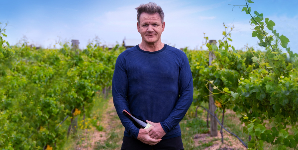 戈登拉姆葡萄酒品牌 Gordon Ramsay Wine 形象照
