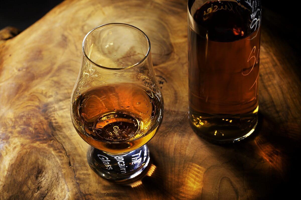 威士忌深色烈酒
