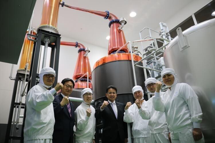 羽生蒸溜所 復活的蒸餾器