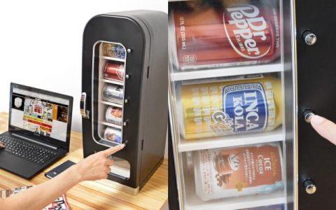 桌上自動販賣型冷藏庫「俺の自販機」封面