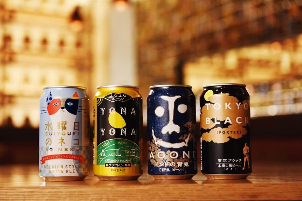 日本Yo-Ho精釀啤酒廠 產品線