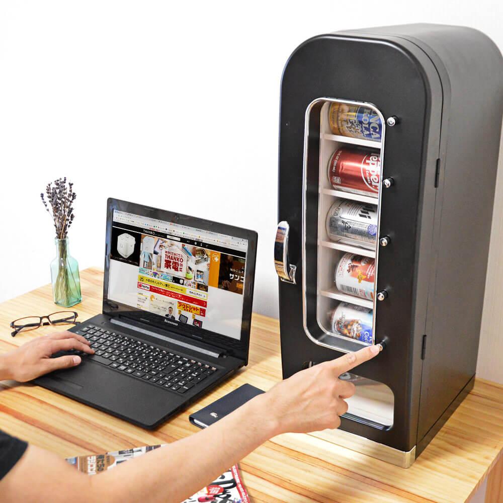 桌上自動販賣型冷藏庫「俺の自販機」