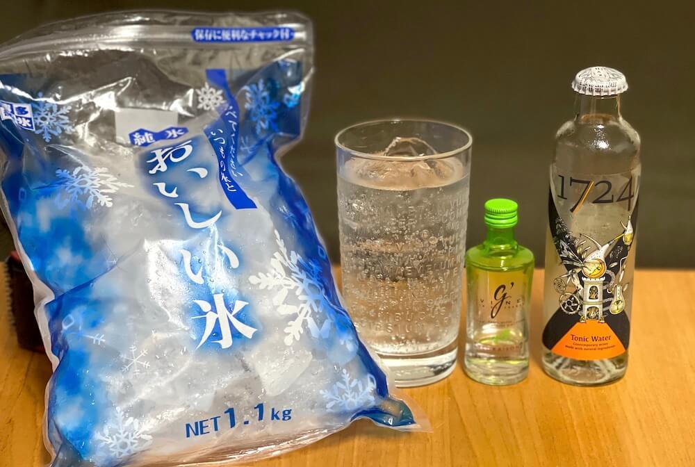 日本九州冰塊 Gin tonic