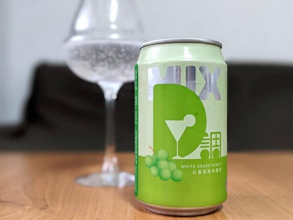 台啤微醺D調(MixD)系列 白葡萄