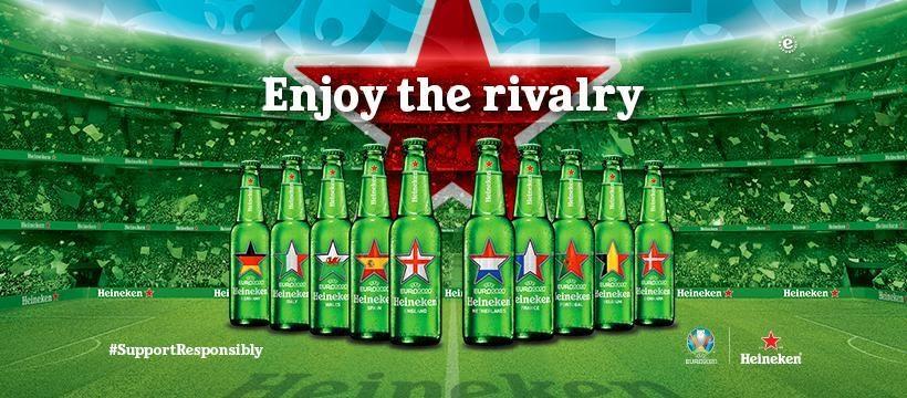 heineken-euro 海尼根歐洲盃紀念瓶
