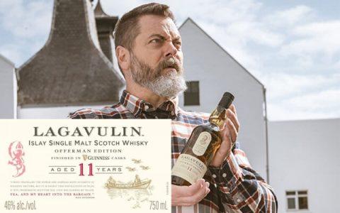 樂加維林Lagavulin Offerman系列健力士Guinness過桶11年威士忌