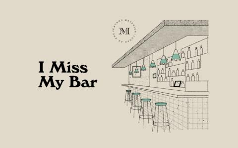 I miss my bar 網站 封面
